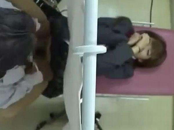 【JK産婦人科孕ませ】妊娠検査にきたギャル女子高生にセクハラ診察でいたずら…変態凌辱病院の少女種付け盗撮記録映像
