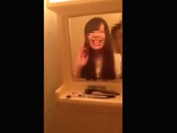 【高校生カップル自撮り】「アン…ラブホだと超濡れちゃう♡」セックス中毒の女子高生をプライベート調教するカレシの投稿映像が流出した