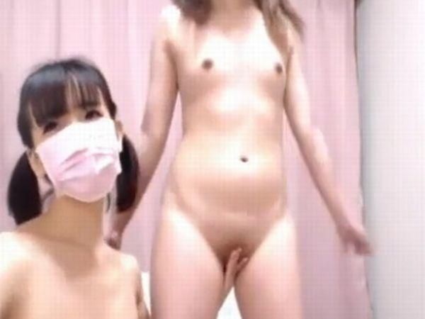 【パイパン全国配信】グレーゾーンを攻めすぎてニコ生永久BANされたロリ女子高生のライブチャット全裸露出映像が流出!
