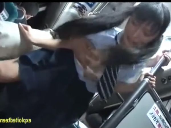 【JK恥辱レイプ】通勤バス内での痴漢が公開凌辱に発展した超凶悪犯罪…清楚系のツインテ女子高生が羞恥にまみれ肉棒に支配される